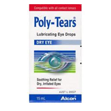 Poly Tears contact lenses