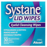 Systane Lid Wipes contact lenses