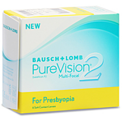 Purevision 2 Multifocal contact lenses