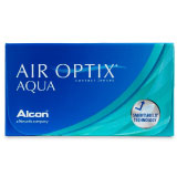 Air Optix Aqua 3 Pack contact lenses