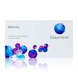 Biofinity 6 Pack contact lenses