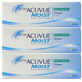 Acuvue Moist Multifocal 90 Pack contact lenses