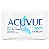 Acuvue Oasys Transitions contact lenses